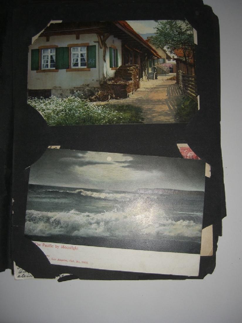 115 postcards in scrapbook - 3