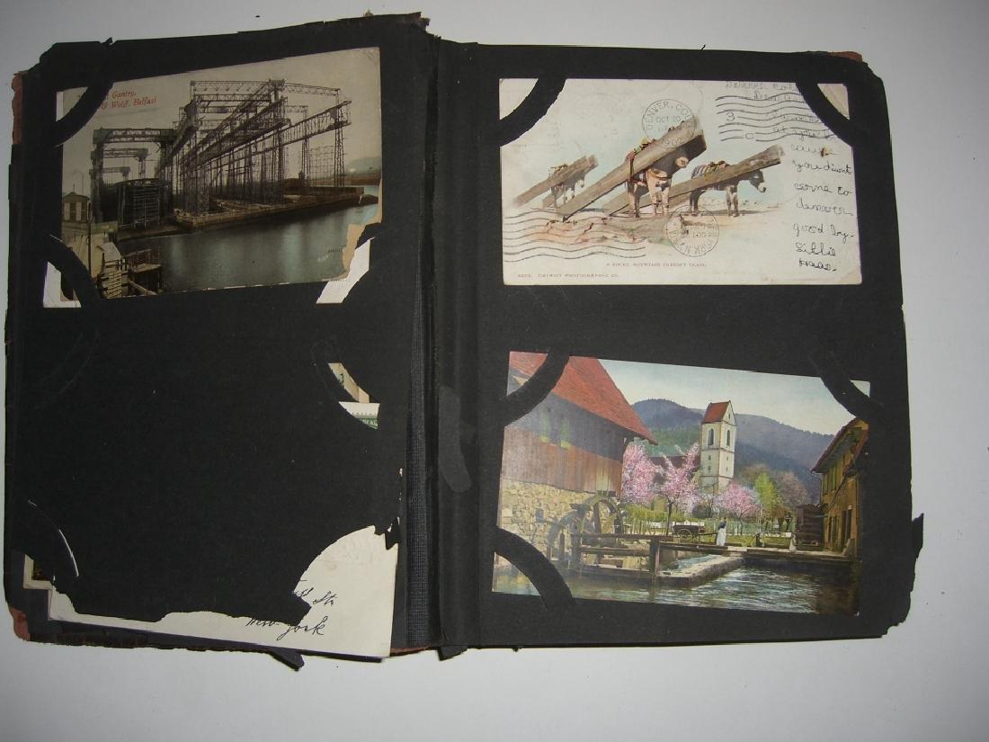 115 postcards in scrapbook - 4