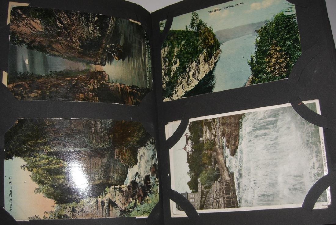 115 postcards in scrapbook - 6