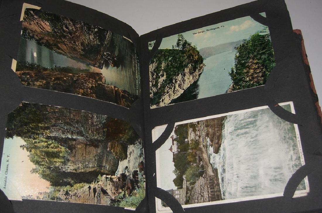 115 postcards in scrapbook - 8