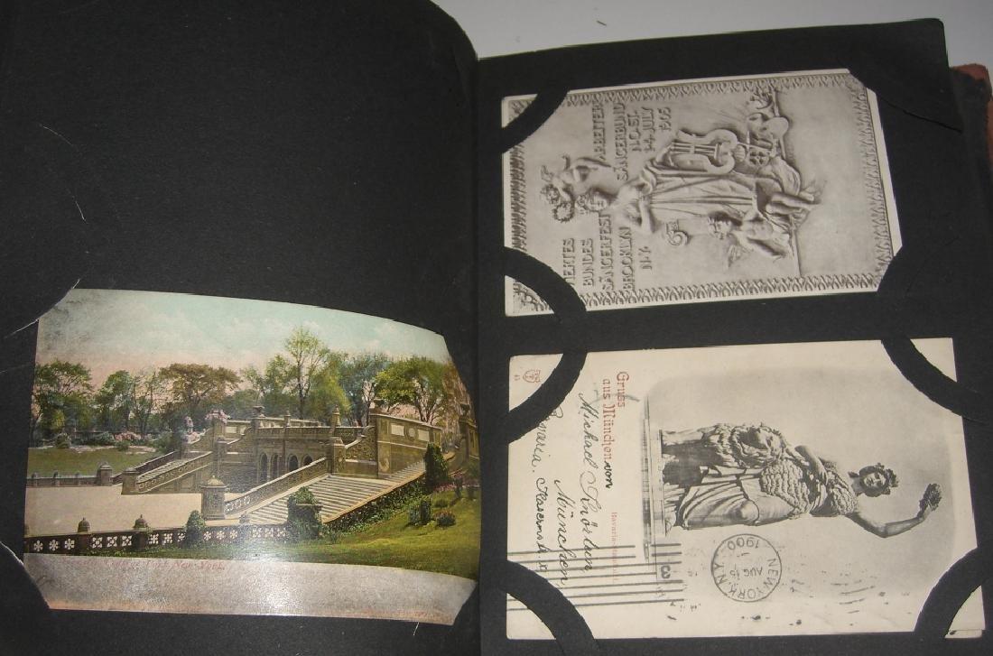 115 postcards in scrapbook - 9