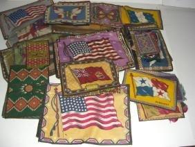 50 vintage Tobacco cigar blankets