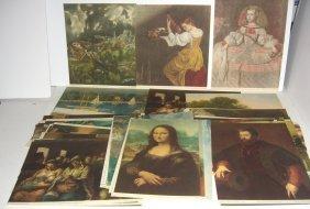50 1930's Art Museum painting prints