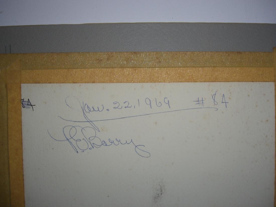 4 1960's  watercolors - 7