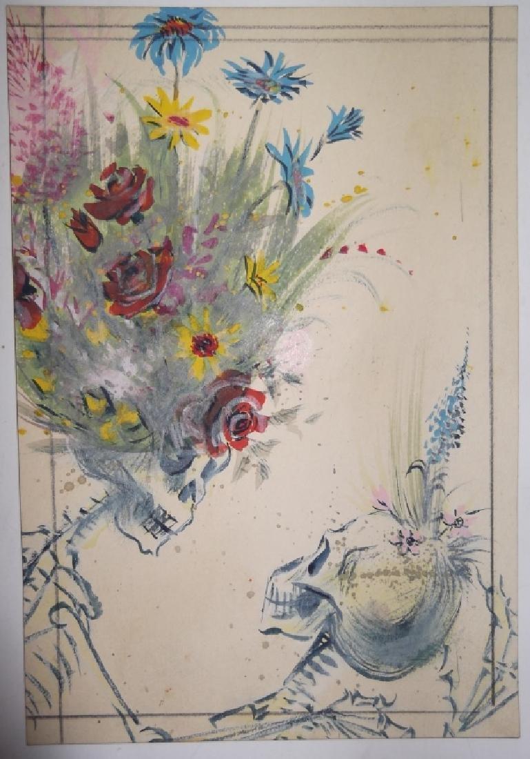 7 1950's watercolors by  Panttila - 4