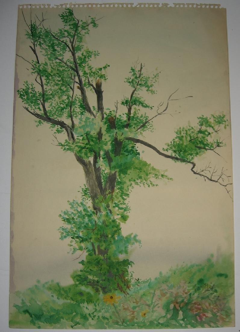 7 original watercolors by  Panttila - 10