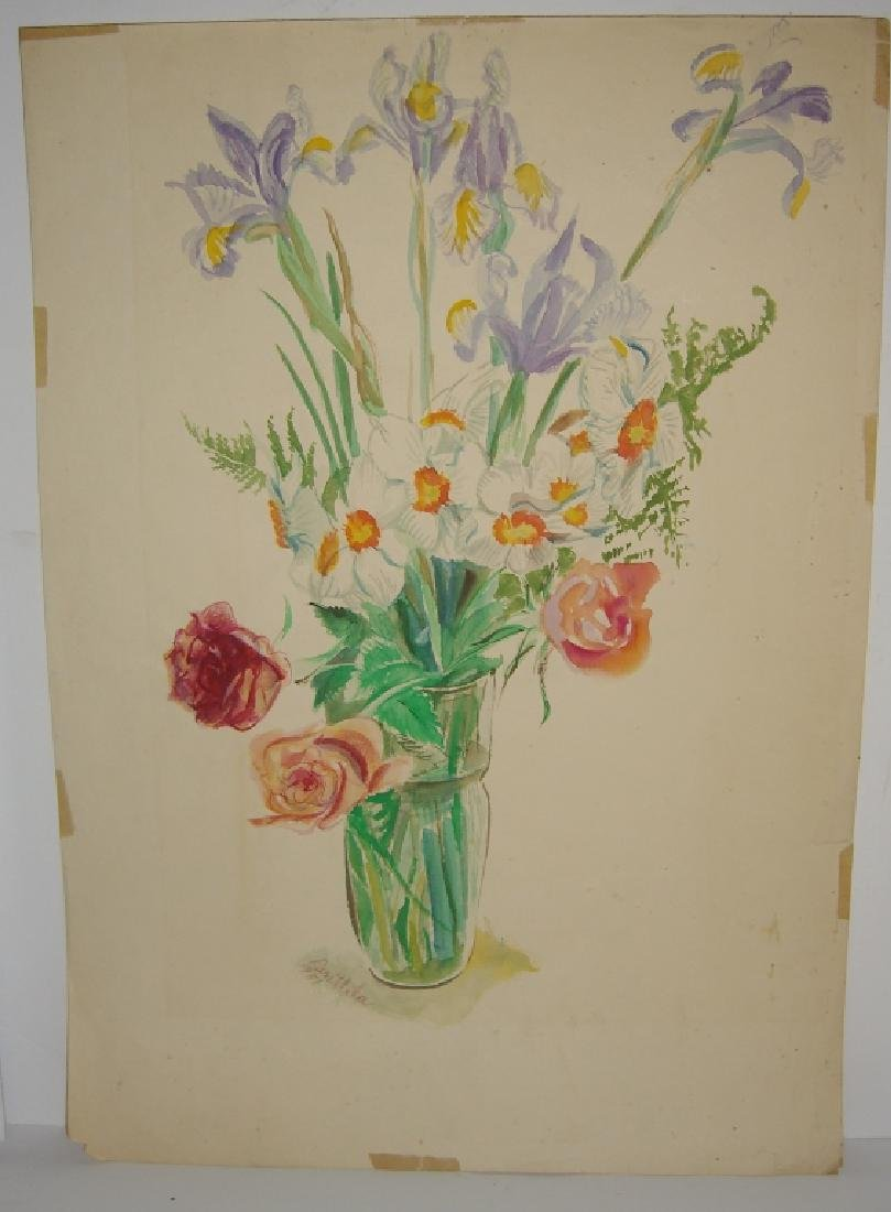 7 original watercolors by  Panttila - 7