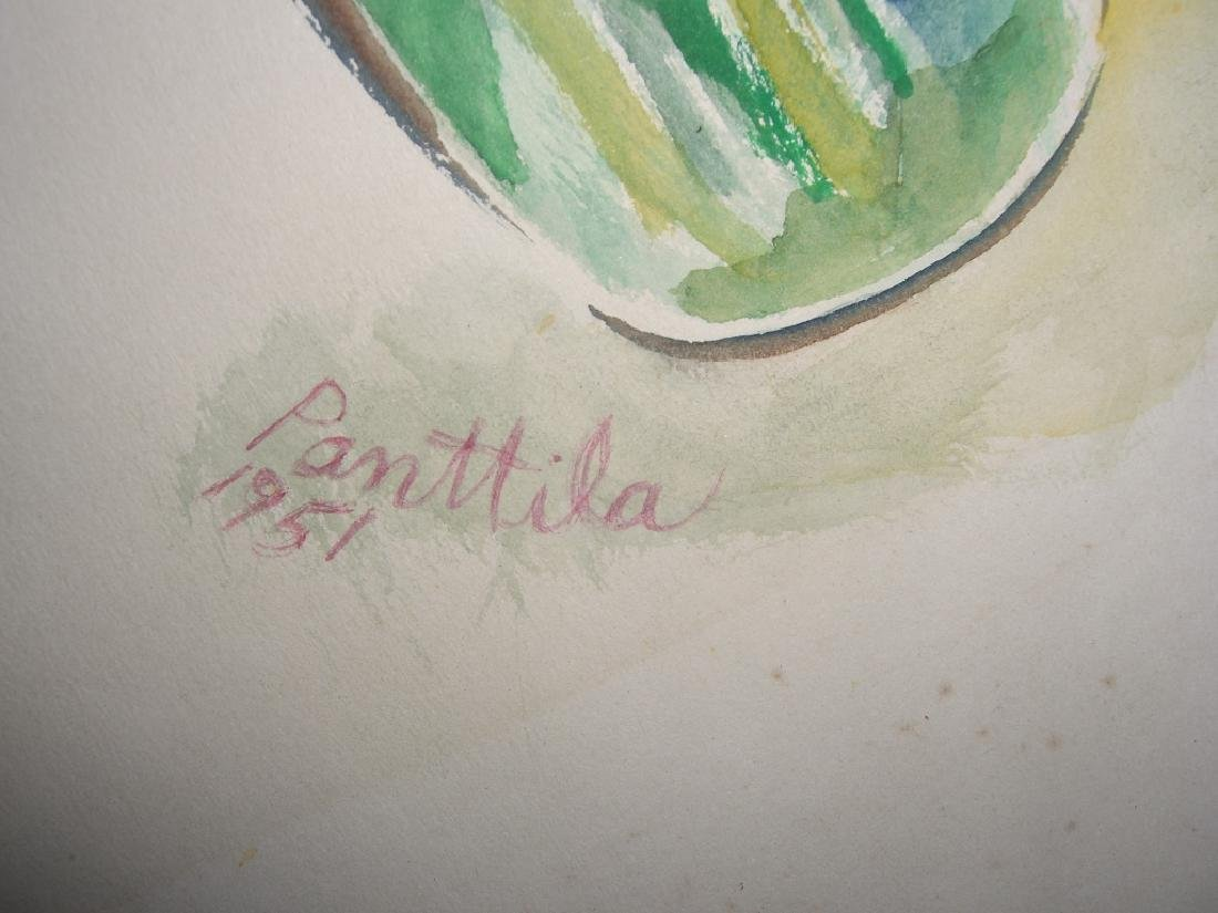 7 original watercolors by  Panttila - 8
