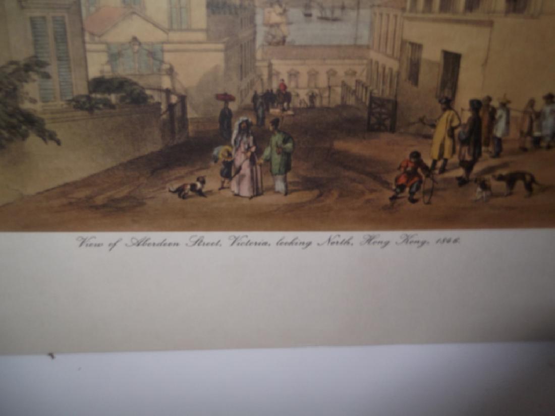 6 20th c. bookplate Hong Kong lithographs - 8