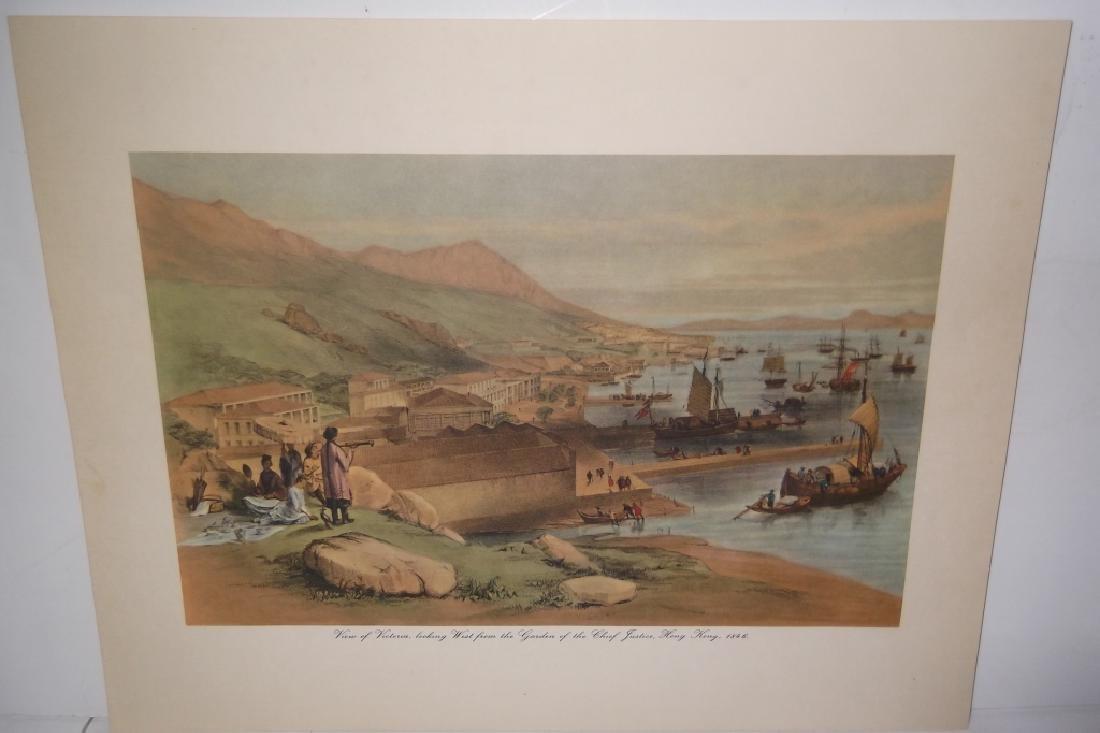 6 20th c. bookplate Hong Kong lithographs - 9