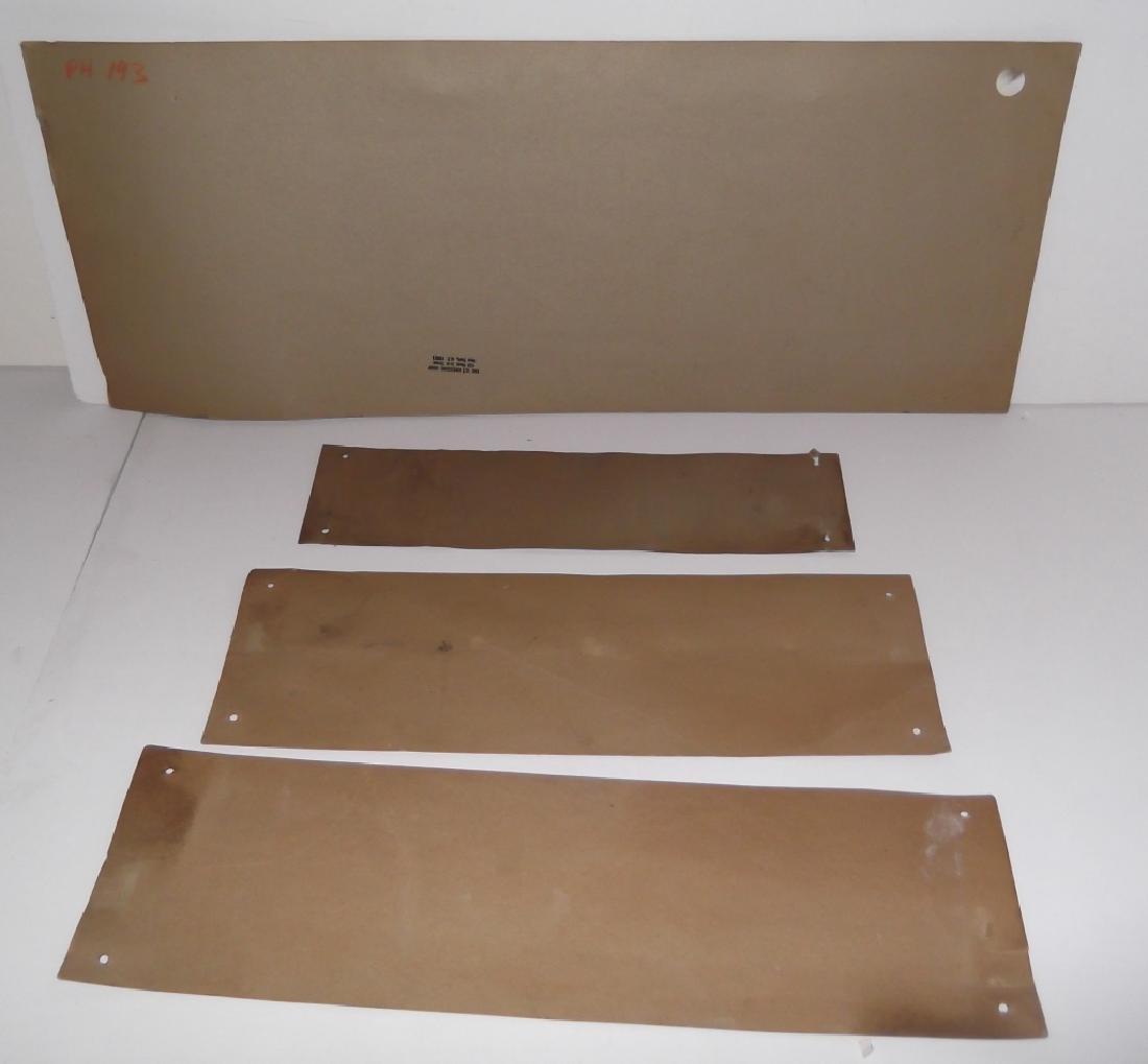 4 cardboard advertising signs - 3