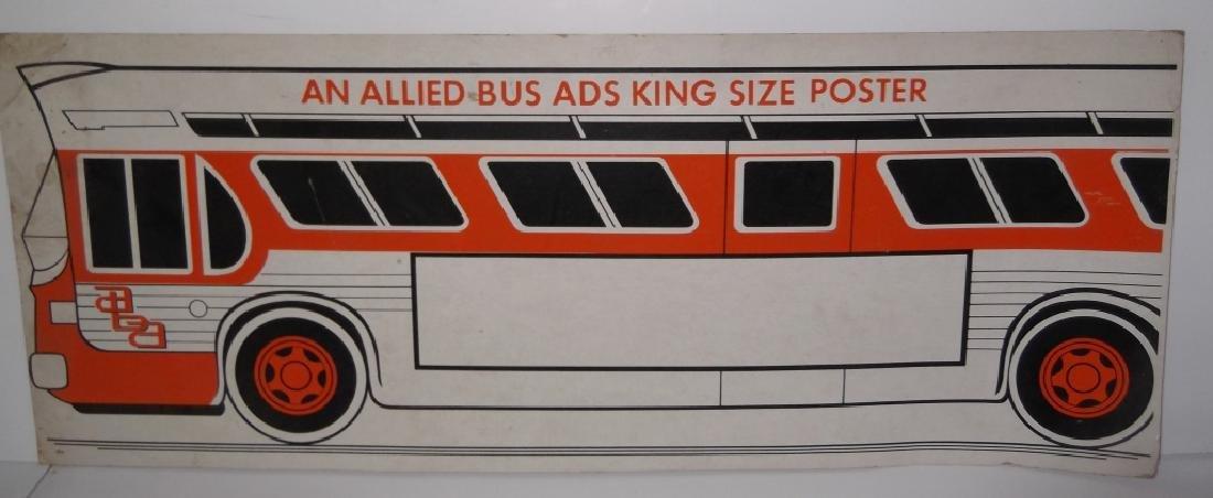 4 cardboard advertising signs - 4