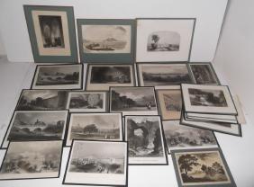 27 19th/20th c. bookplate engravings/etchings