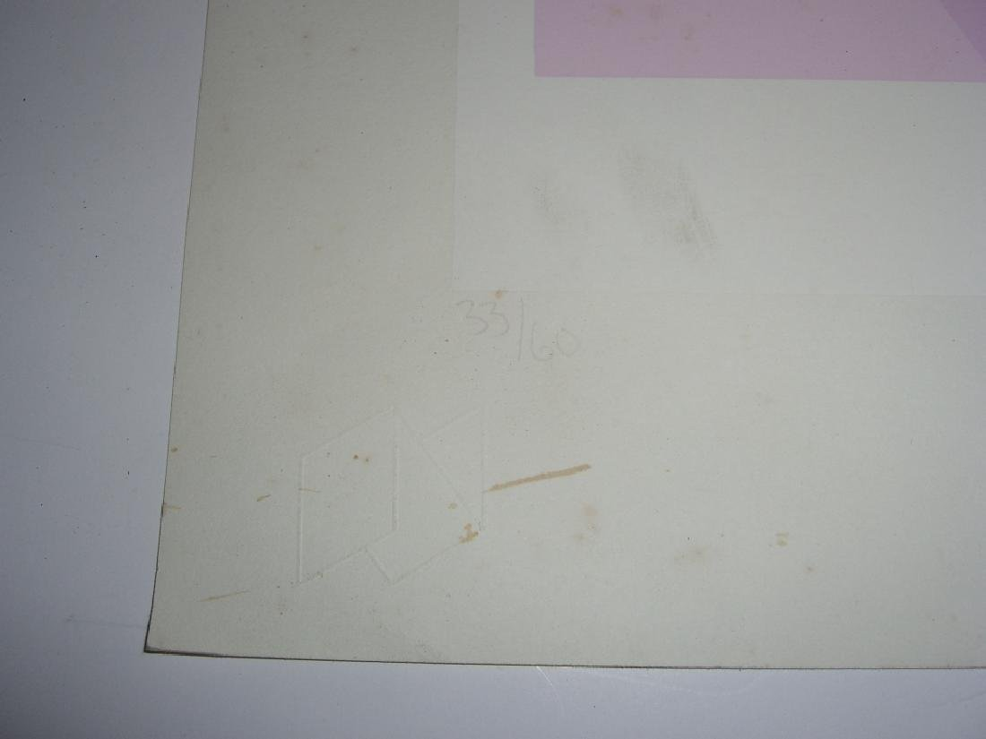 2 abstract lithographs - 4