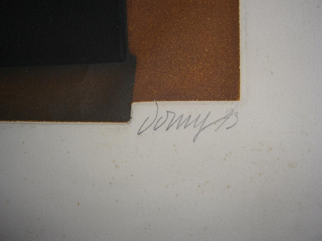 2 abstract lithographs - 7
