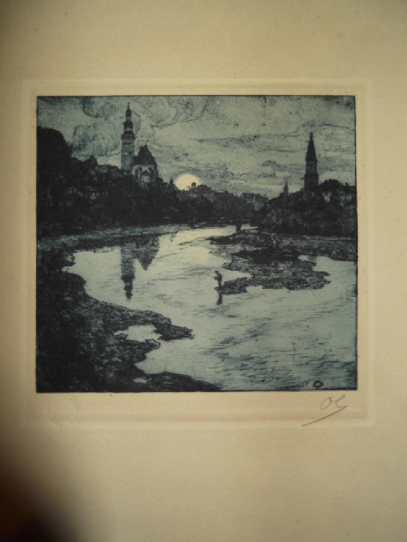 2 landscape/scenic view lithographs - 4