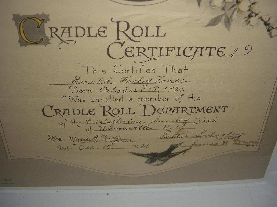 11 19th/20th c. certificates, documents & print - 4
