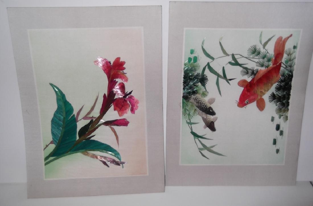 5 piece Japanese artwork lot - 2