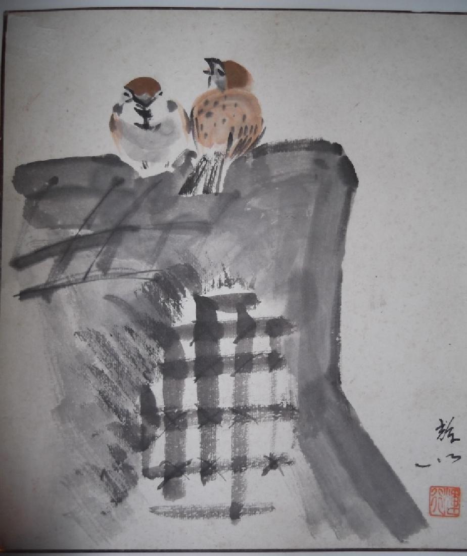 5 piece Japanese artwork lot - 4