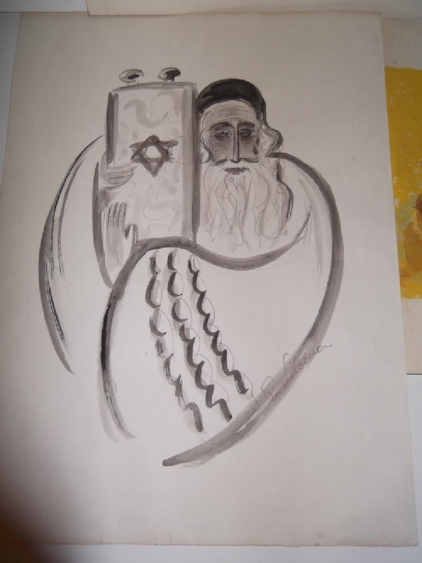 4 piece judaica artwork - 6