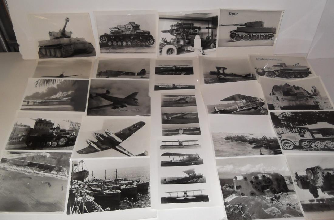 23 war related photographs