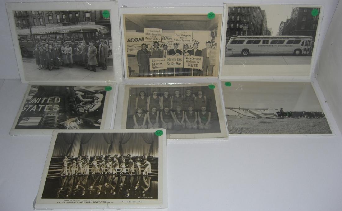 7 vintage photographs