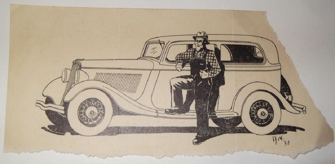 4 original  illustration drawings - 5
