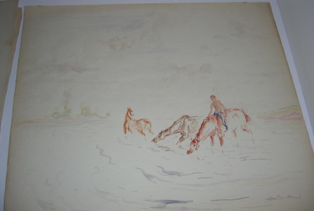 4 horse prints by  Holesch - 8