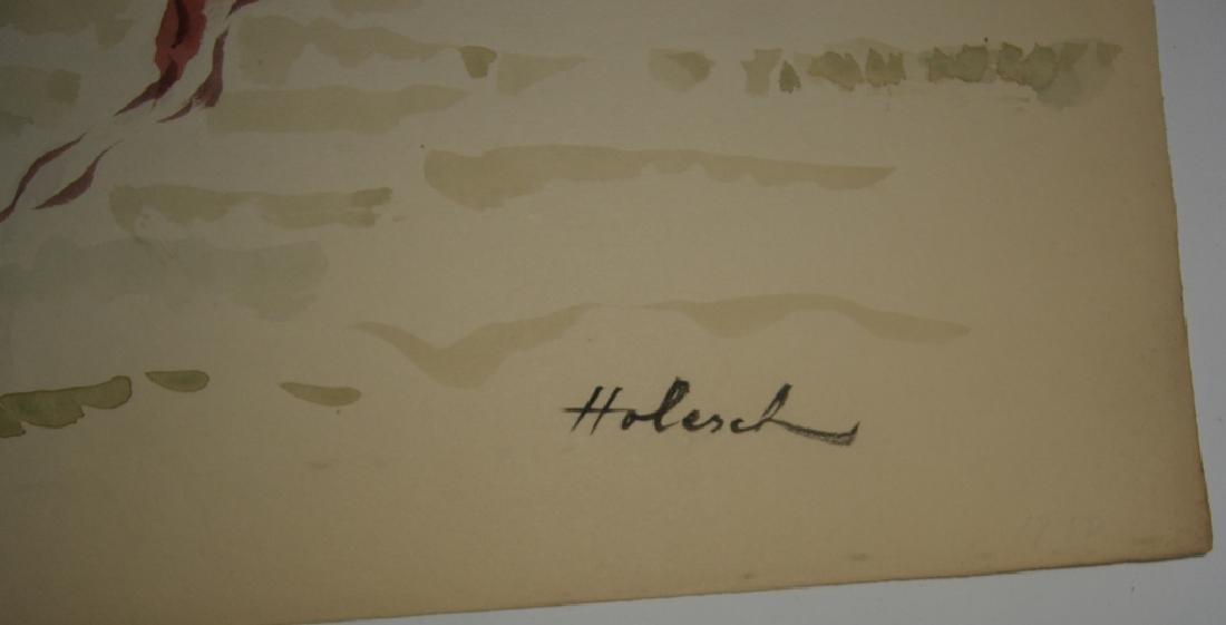4 horse prints by  Holesch - 10