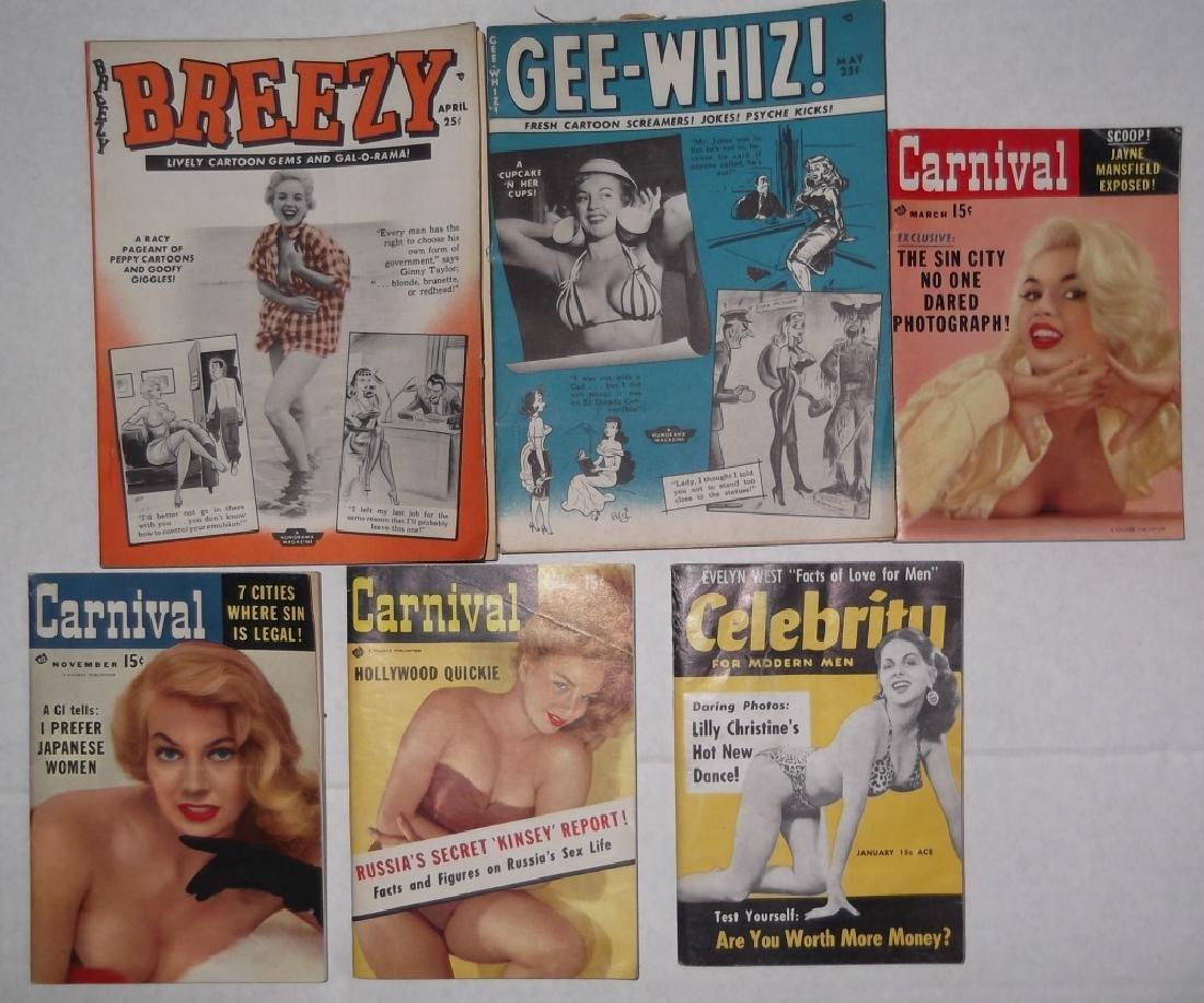 6 adult male magazines