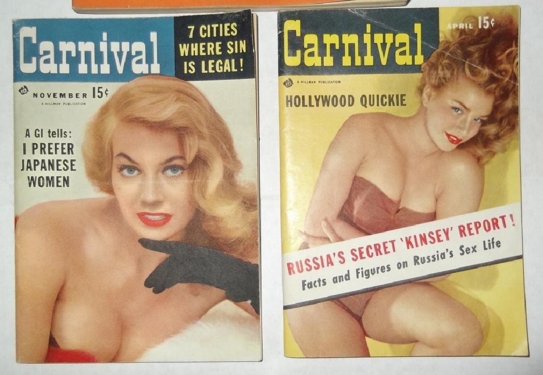 6 adult male magazines - 2