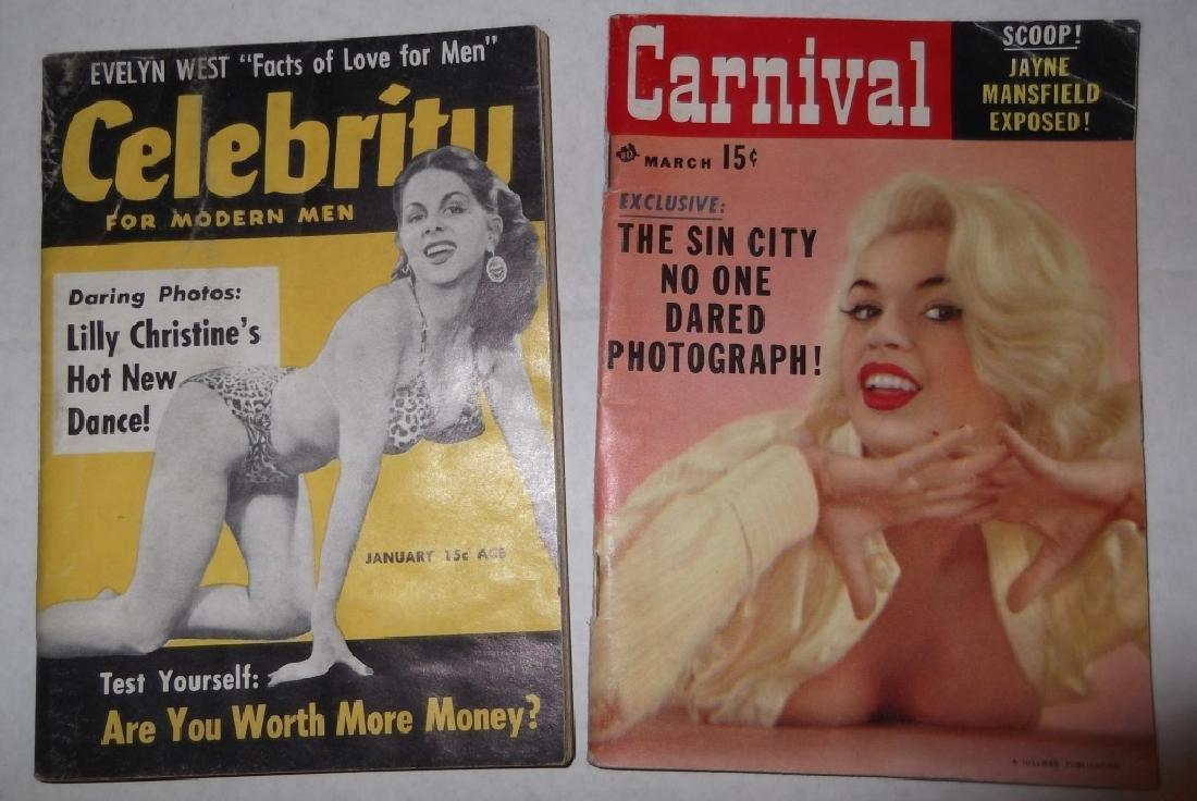 6 adult male magazines - 3