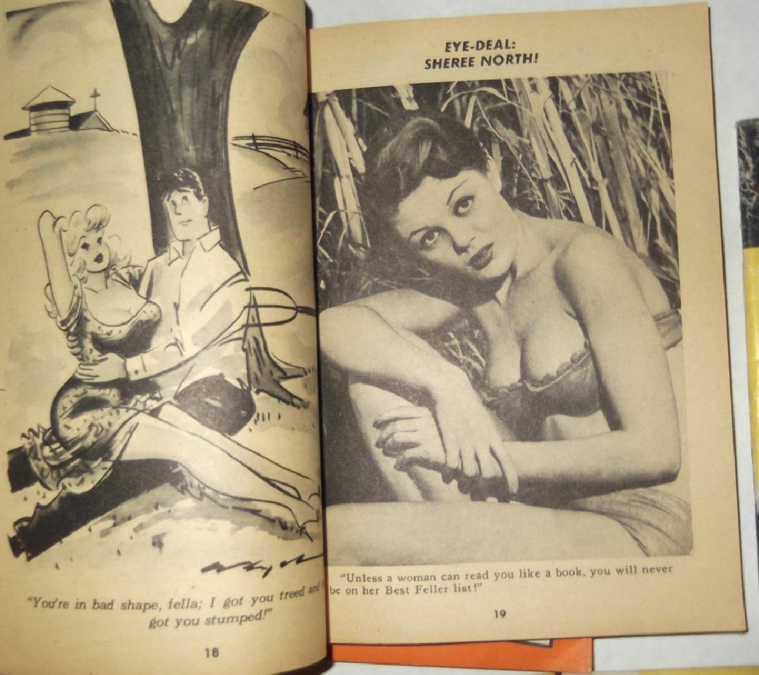 6 adult male magazines - 6