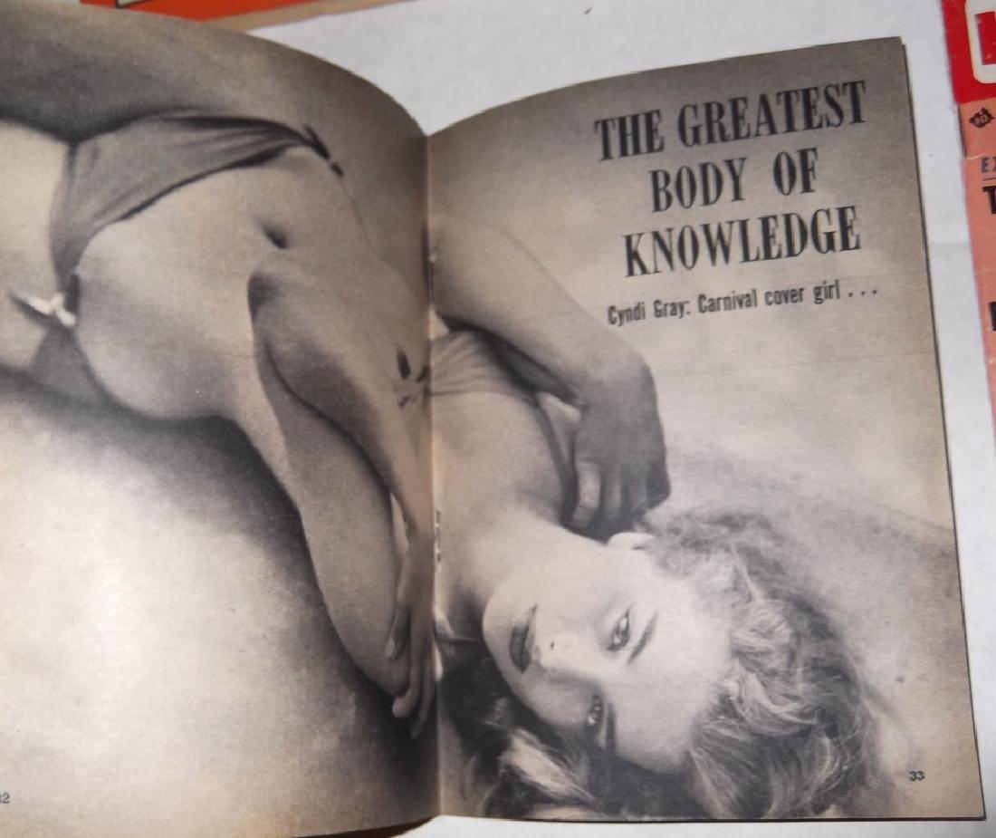 6 adult male magazines - 9