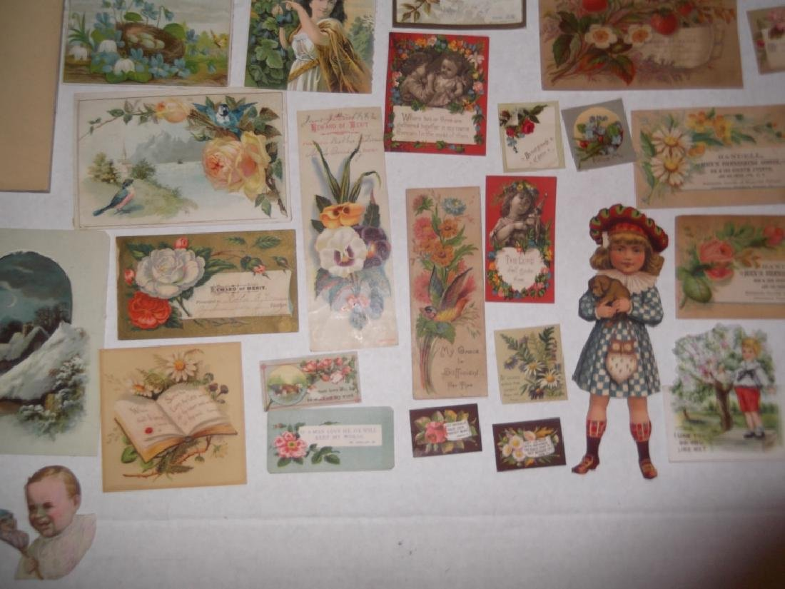 50 advertising  cut-outs; trade cards - 3
