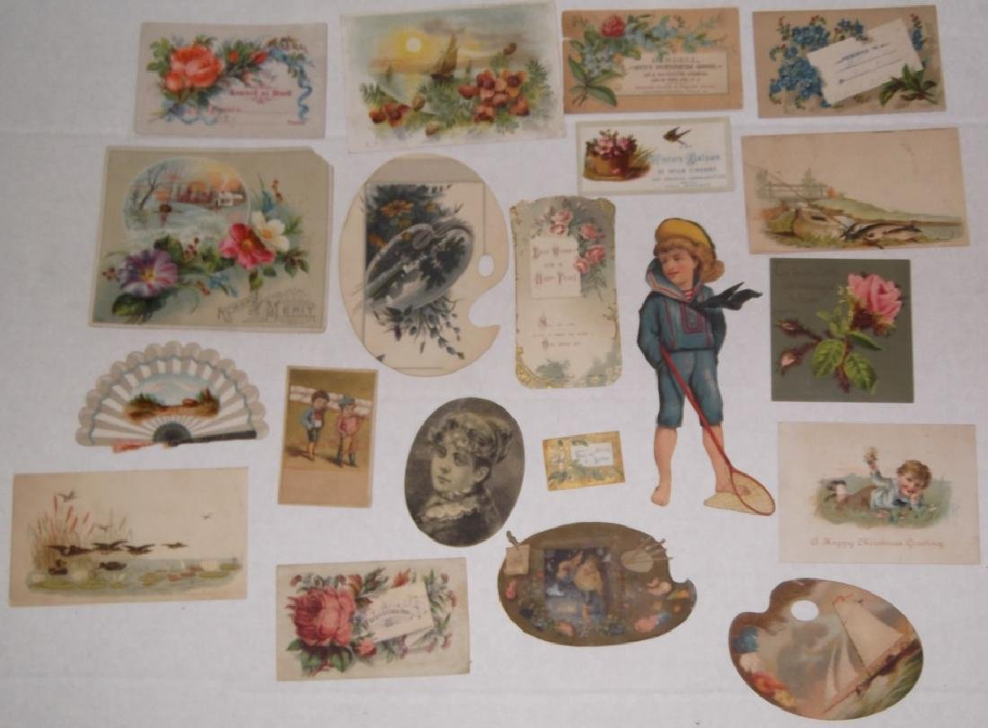 50 advertising  cut-outs; trade cards - 5