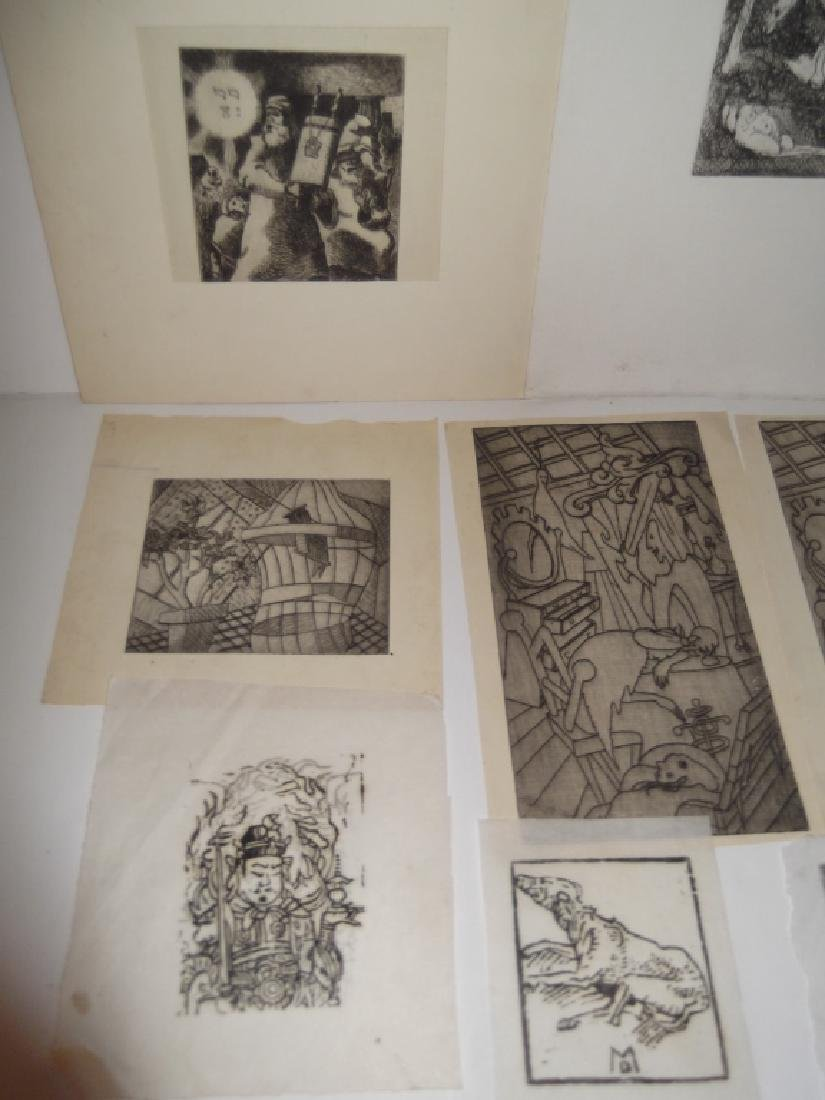 11 piece assorted artwork lot - 4