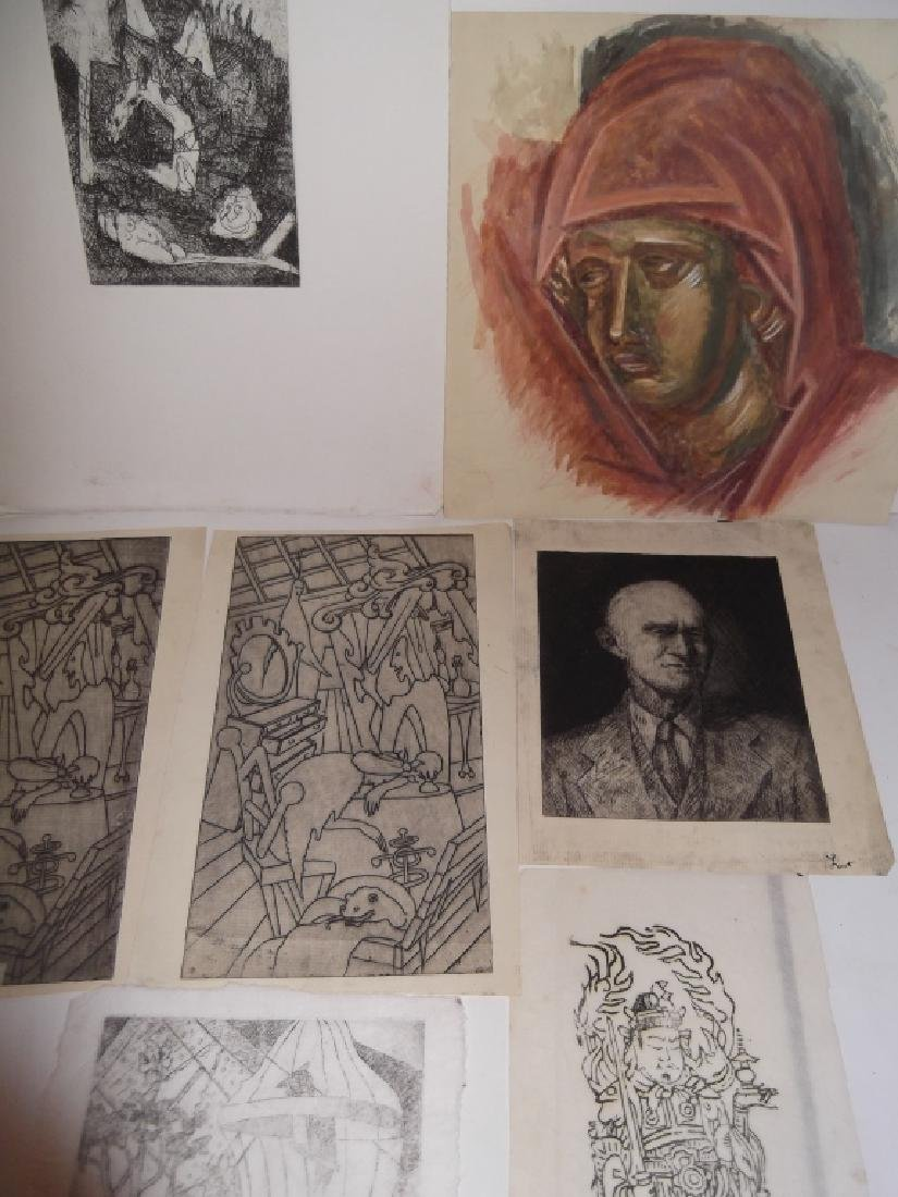 11 piece assorted artwork lot - 5