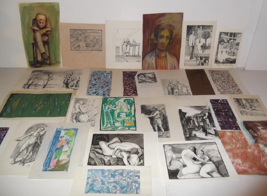29 piece artwork lot