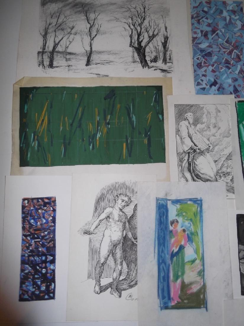 29 piece artwork lot - 2