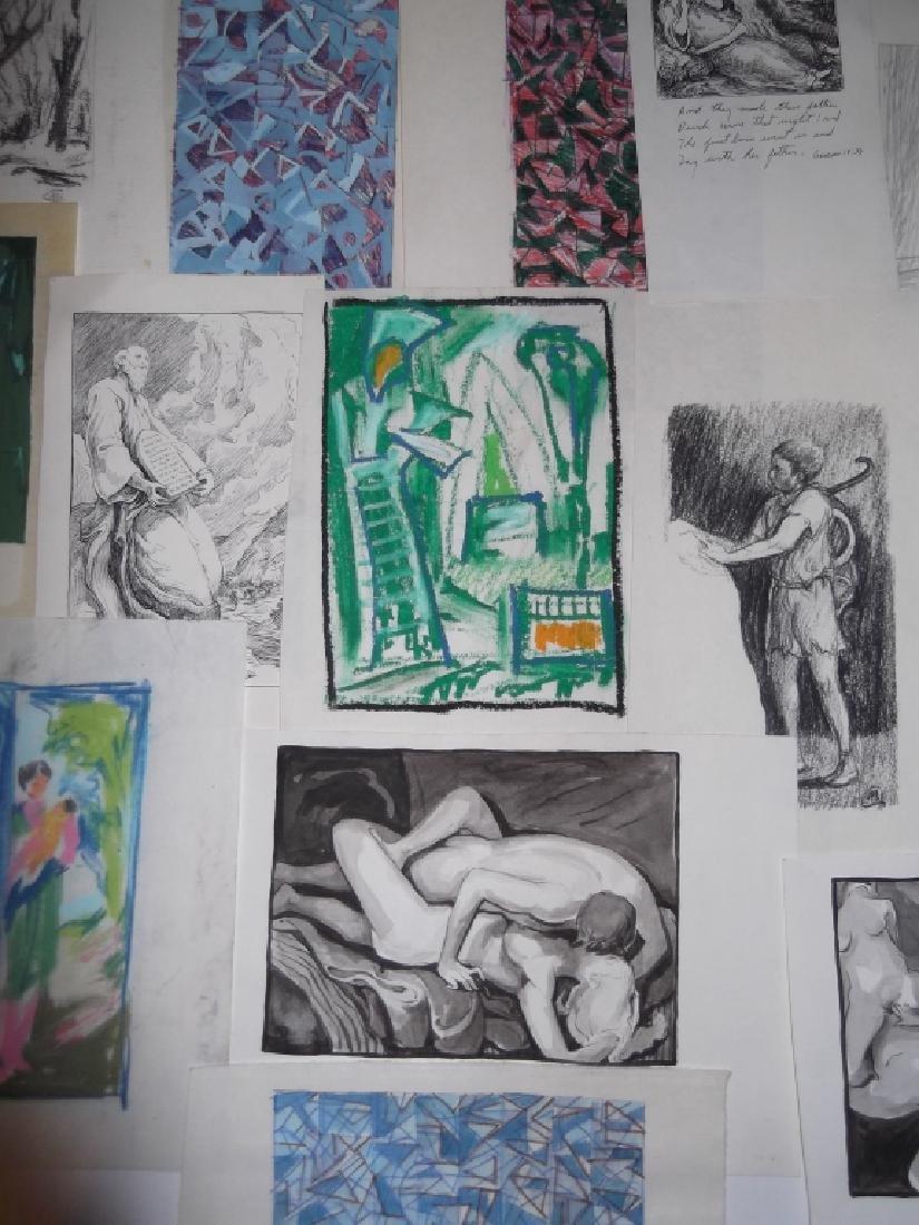 29 piece artwork lot - 7