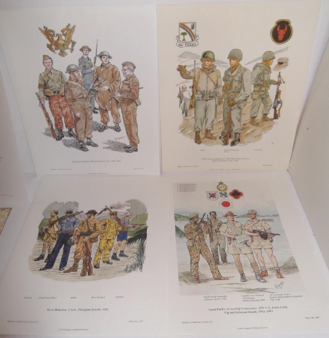 35 military uniforms in America prints - 5