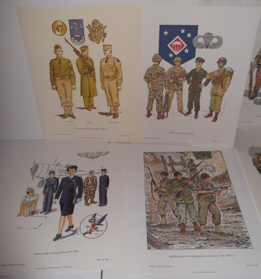 35 military uniforms in America prints - 6
