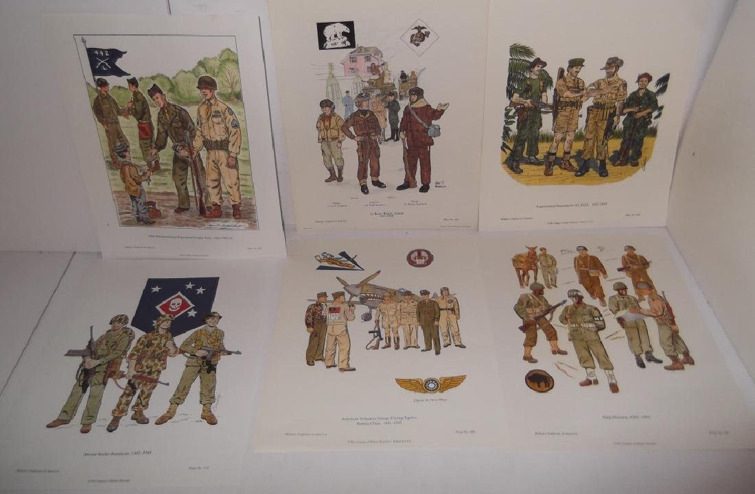 35 military uniforms in America prints - 8