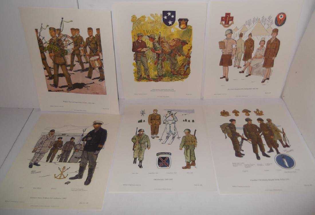 35 military uniforms in America prints - 9
