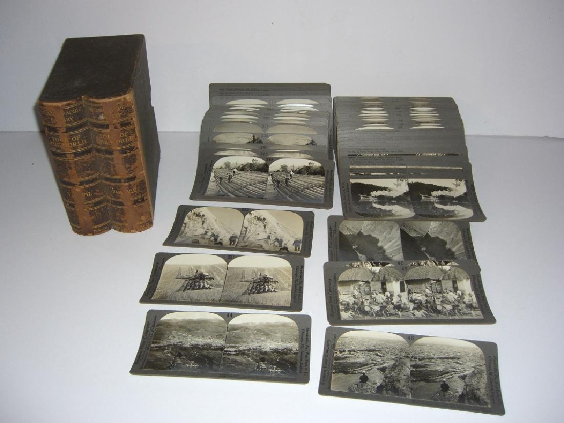 93 Stereoscope view Cards