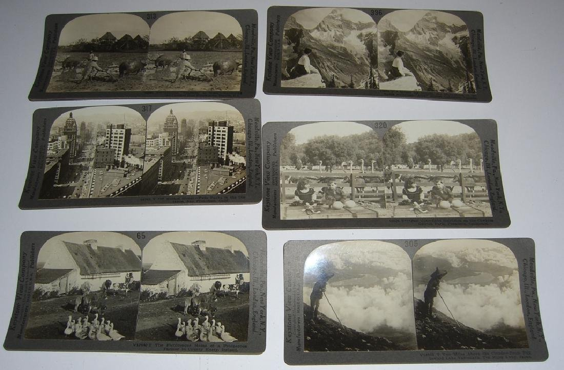 93 Stereoscope view Cards - 3