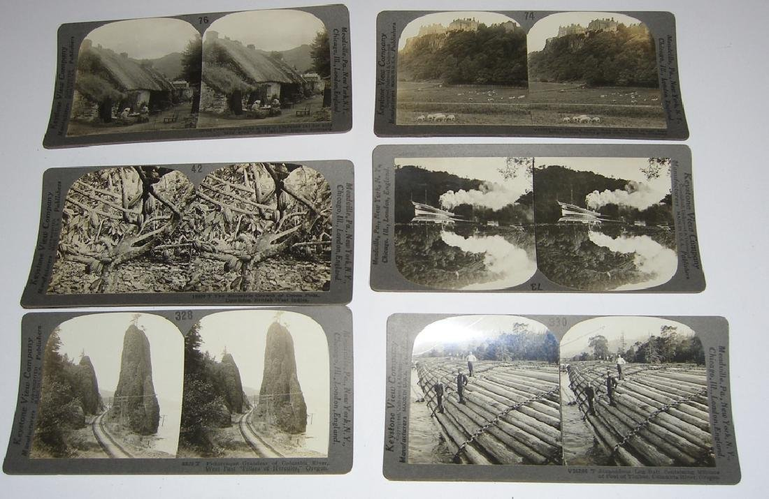 93 Stereoscope view Cards - 8