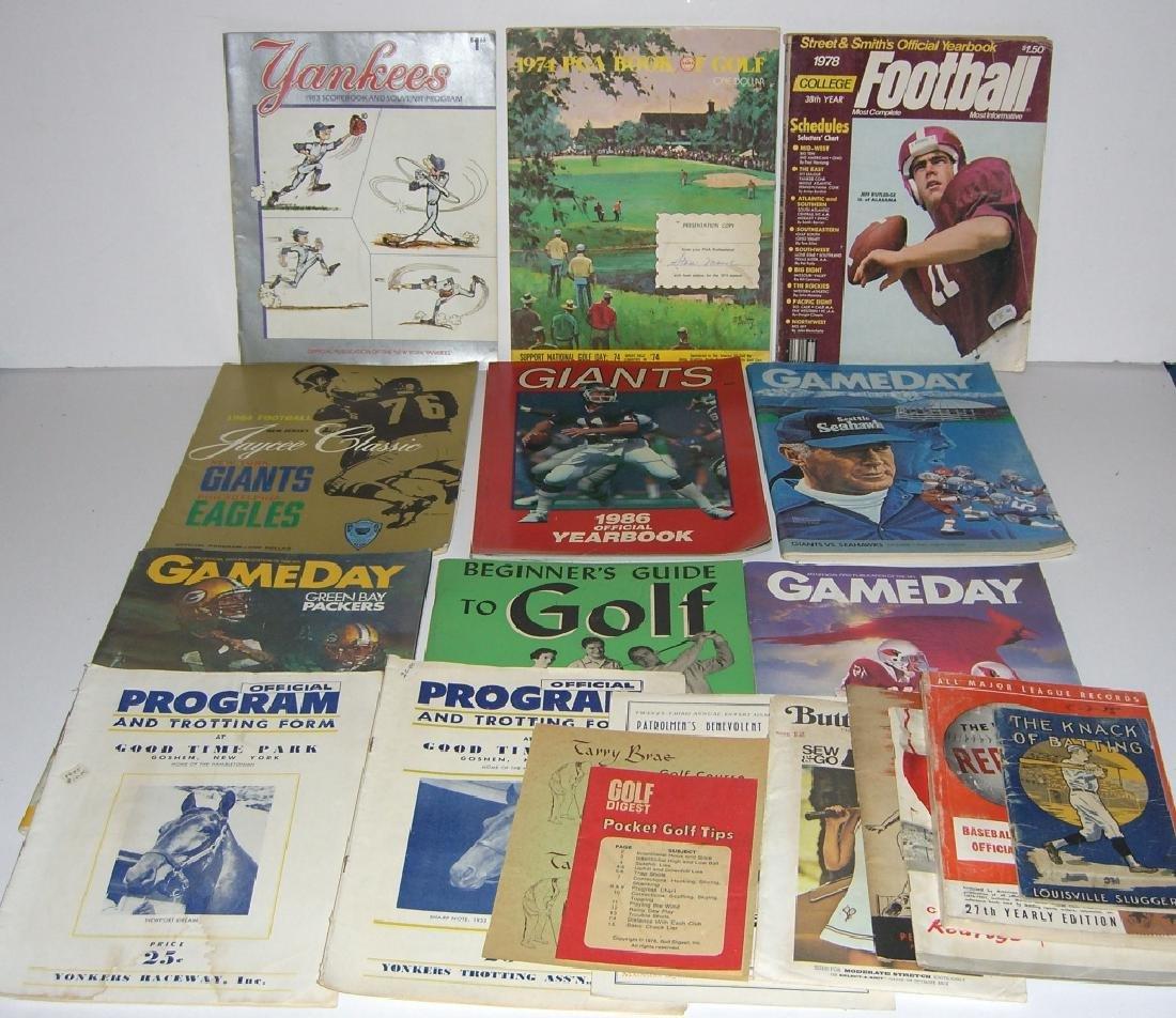 19 sports magazines/programs