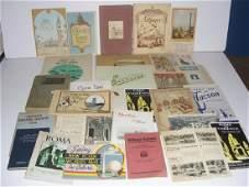 32 travel guidesbrochures